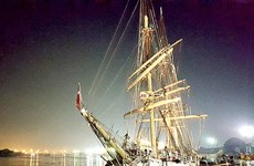 Norway's oldest fully-rigged ship arrives in HCM City