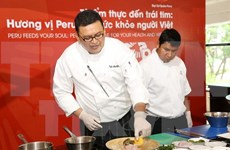 Gastronomy gives Vietnamese a taste of Peru's culture