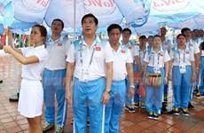 Flag-hoisting ceremony for ABG5 held