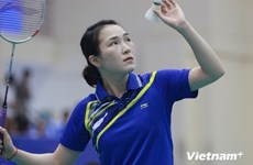 Int'l series attracts badminton players from 15 countries, territories