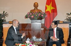 Deputy PM greets US business council official