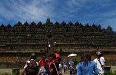 Foreign tourists to Indonesia up
