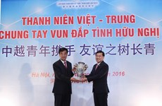 Vietnam communist youth union treasures ties with Chinese counterpart