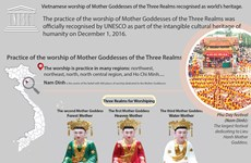 Vietnam's Worship of Mother Goddesses recognised as world's heritage