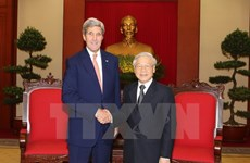 Party leader praises John Kerry's contribution to VN-US ties