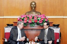 VFF Vice President receives US religious official