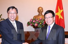 Vietnam, Singapore convene ninth political consultation