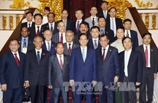 PM receives delegates to 70th anniversary of Vietnam Police's Day