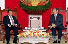 Lao Vice President affirms special solidarity with Vietnam