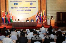 Conference of solidarity with Cuba issues Hanoi Declaration