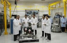 Indonesia launches homemade satellite