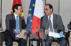 President reiterates importance of ties with France