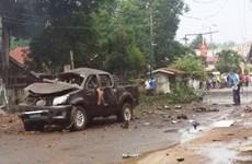 Four killed in Philippines blast