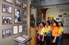 Exhibition showcases objects from Ho Chi Minh's life