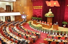 Party Central Committee closes 12th meeting