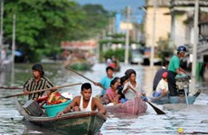 Myanmar proposes delaying elections due to flooding