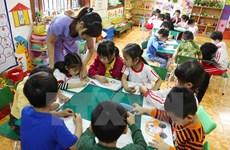 New kindergarten for worker housing complex in Hanoi