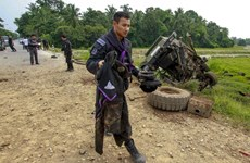 Two people killed in southern Thailand's blast