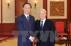 Party chief receives Chinese Party official
