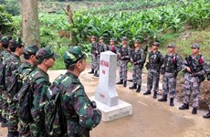 Vietnam, Laos reinforce cooperation in border security