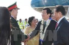 President meets Philippine lower house speaker