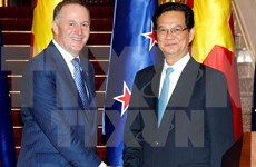 New Zealand PM concludes Vietnam visit