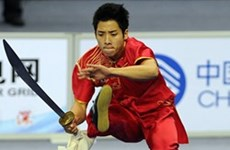 Vietnam win another bronze medal at wushu championships