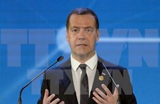 Russian PM starts visit to Cambodia