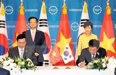RoK President welcomes FTA with Vietnam