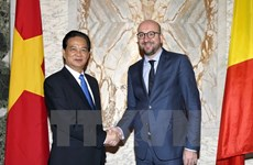 Vietnamese, Belgian PMs agree on initiatives for stronger ties