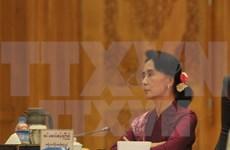 Political talks in Myanmar on power transition