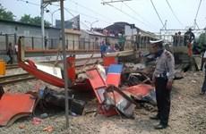 Jakarta: Train-minibus collision kills 16