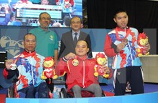 Nine gold medals added to Vietnam's tally at ASEAN Para Games
