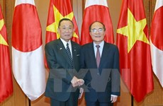 NA Chairman, Japan's House of Councillors President hold talks