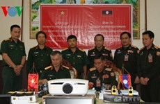 Vietnam aids Laos' military training