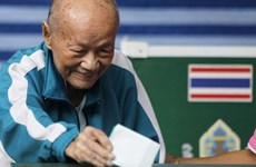 Thailand's new constitution draft announcement dated