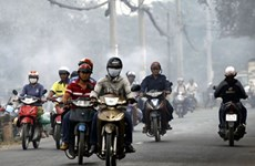 Air pollution in Hanoi, HCM City worsens