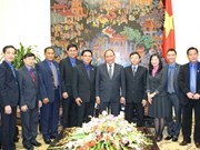 Deputy PM receives Lao youth union official