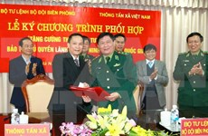 Vietnam News Agency to increase coverage of border security