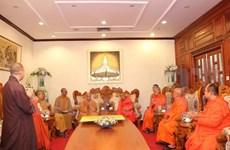 Vietnamese, Lao Buddhist sanghas look to enhance links
