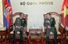Defence Minister meets Cambodian veterans
