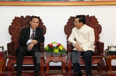 Lao Deputy PM thanks VNA for support to Lao News Agency