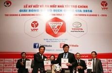 Toyota continues to sponsor V-League 2016