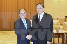 Vietnam's top legislator meets with CPPCC leader