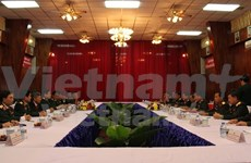 Vietnam, Laos defence ministries sign new cooperation deal