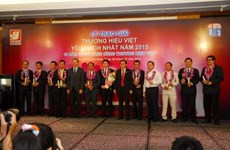 Most favourite Vietnamese brand names in 2015 announced