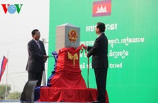 Another border marker between Vietnam and Cambodia inaugurated