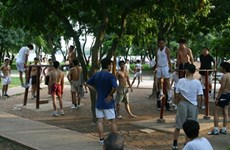 Hanoi to build parks, playgrounds