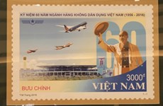 Stamp celebrates civil aviation industry's anniversary