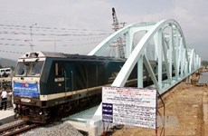 Upgrades to 44 rail bridges completed